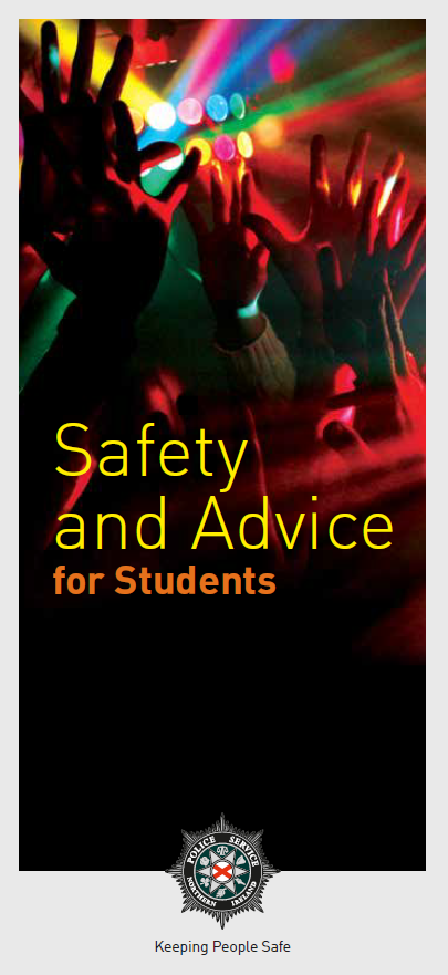 Safety and Advice for Students Leaflet