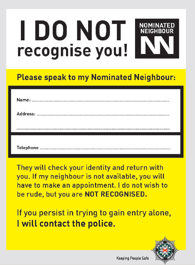 Nominated Neighbour Leaflet